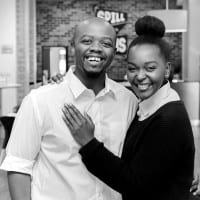 Siviwe and Marcia Notshe